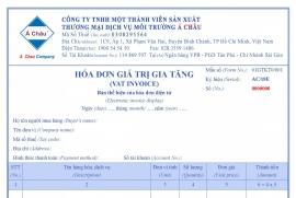 Môi Trường Á Châu triển khai hóa đơn điện tử thay thế hóa đơn giấy từ ngày 18/02/2019