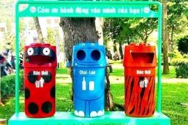 Thành phố Hồ Chí Minh đẩy mạnh phân loại rác tại nguồn