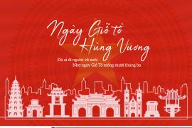 Thông báo lịch nghỉ lễ Giỗ Tổ Hùng Vương, 30/4 và 01/5 năm 2021 | Notice for holidays