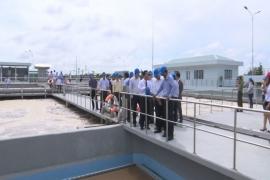 Sóc Trăng khánh thành nhà máy xử lý nước thải cho KCN công suất 10.000m3/ngđ