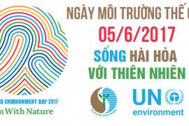 Hướng dẫn tổ chức các hoạt động hưởng ứng Ngày Môi trường thế giới năm 2017