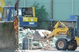 Thiếu nhà máy xử lý rác xây dựng