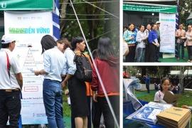 [Hưởng ứng ngày Môi Trường Thế Giới] – Giải pháp quản lý chất thải rắn bền vững được giới thiệu tại Ngày Hội Sống Xanh TPHCM