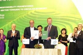 Thiết lập nền kinh tế tuần hoàn tại Việt Nam: IUCN và PRO Việt Nam đã kí kết xây dựng mô hình thí điểm