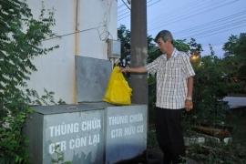 Phân loại rác tại nguồn trong KCN - KCX