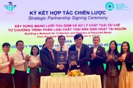 Citenco và PRO Việt Nam hợp tác xây dựng mạng lưới thu gom và xử lý chất thải tái chế