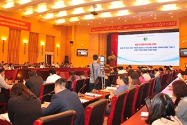 Hội thảo khoa học về giải pháp quản lý và mô hình công nghệ xử lý chất thải rắn sinh hoạt