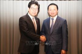 Hàn Quốc sẵn sàng giúp Việt Nam bảo vệ môi trường và quản lý tài nguyên